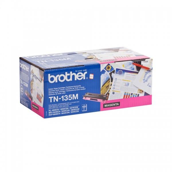 Brother TN135 High Capacity Original Magenta Toner