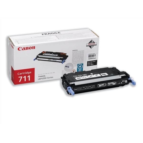 Canon 711BK Black Original Toner
