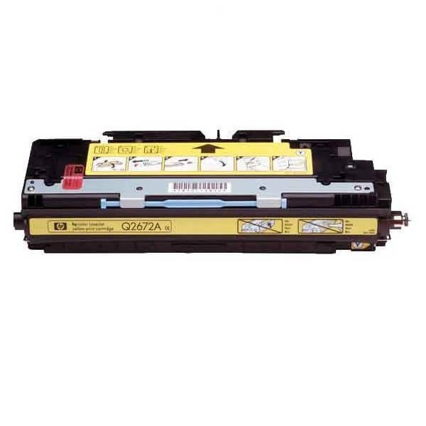 HP Q2672A Yellow Compatible Toner