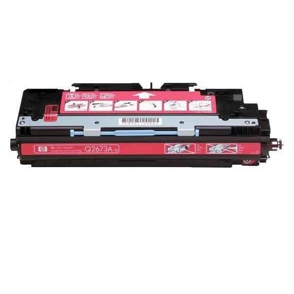 HP Q2673A Magenta Compatible Toner