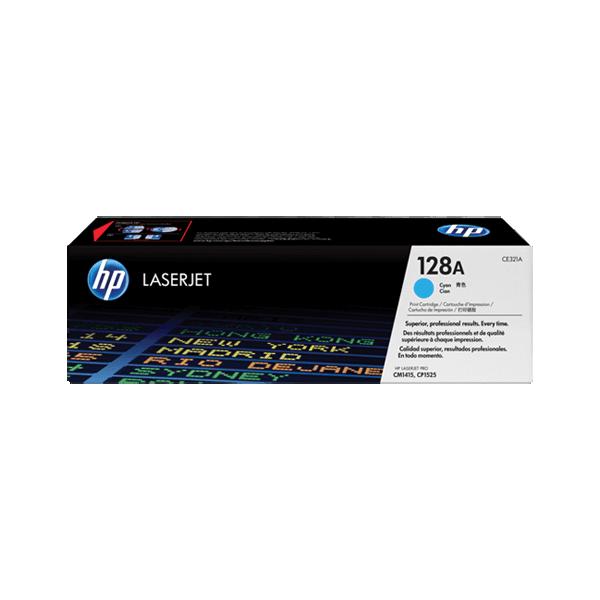 Original HP CE321A Blue 128A Toner