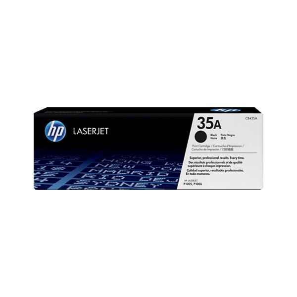 Original HP CB435A Black Toner