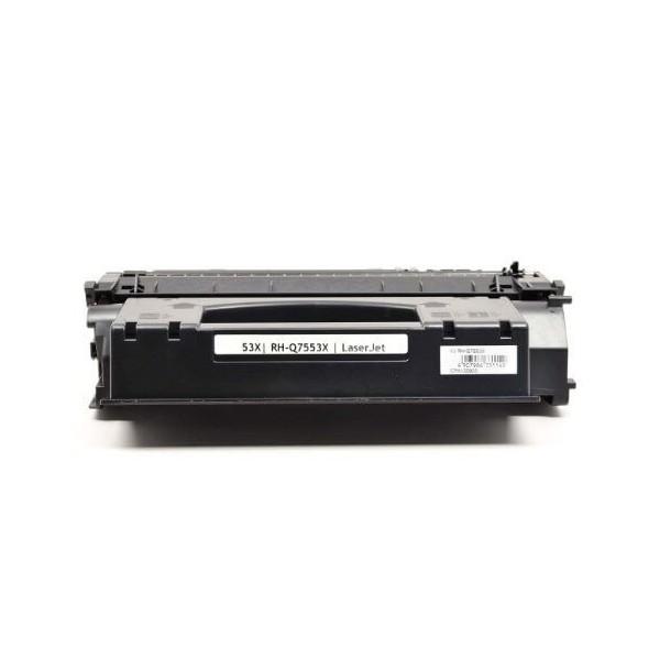 HP Q7553X Black Compatible Toner