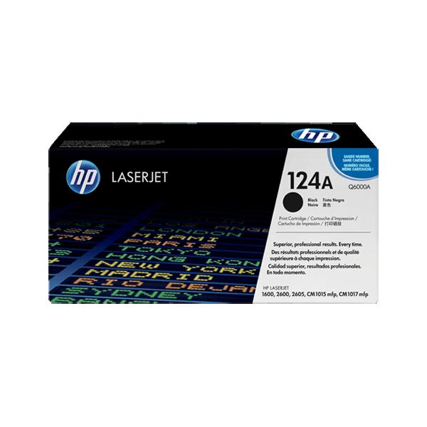 HP Q6000A Black 124A Original Toner