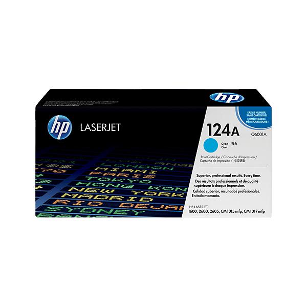 Original HP Q6001A Blue 124A Toner
