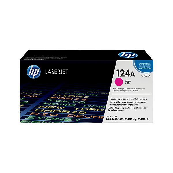 HP Q6003A Magenta 124A Original Toner