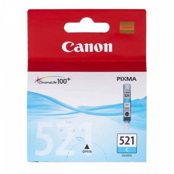 Canon 521 Original Ink Cartridge Blue