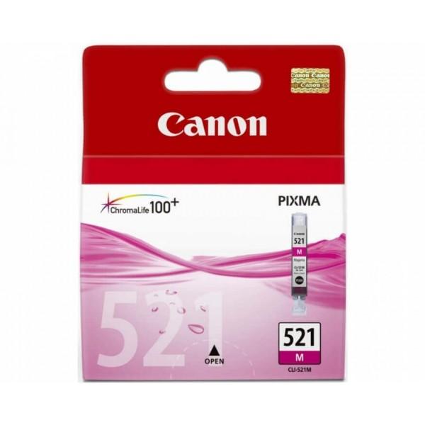 Original Canon 521 Magenta Ink Cartridge