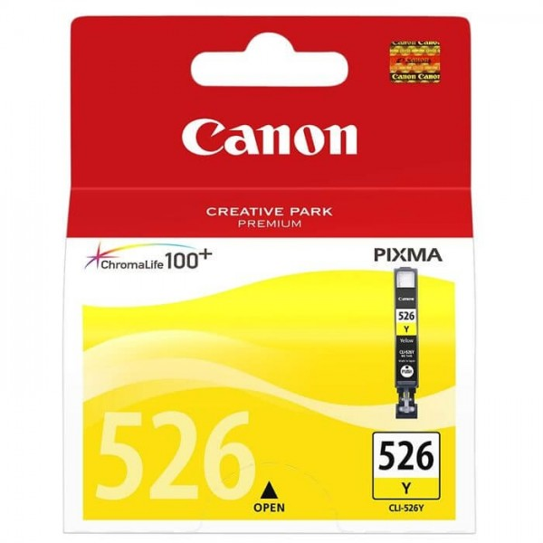 Canon 526 Yellow Original Cartridge