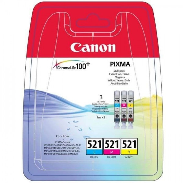 Canon 521 PACK Original Ink Cartridge