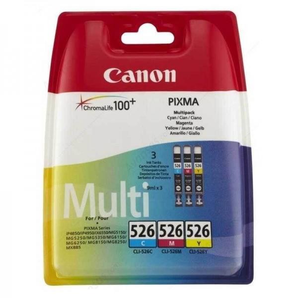 Original Canon 526 PACK Color Ink Cartridge