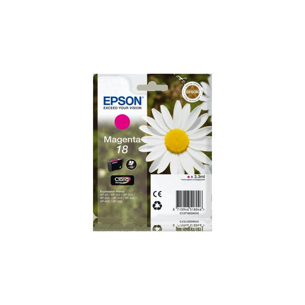 Original Ink Cartridge Epson T1803 Magenta C13T18034010