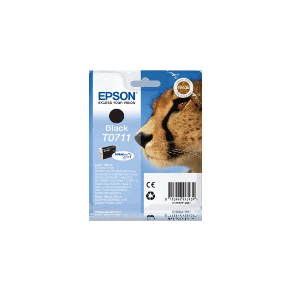 Original Epson T0711 Black Ink Cartridge C13T07114011