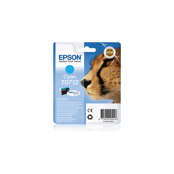 Original Ink Cartridge Epson T0712 Blue C13T07124011