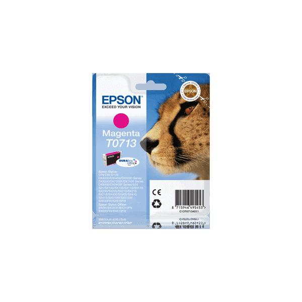 Original Ink Cartridge Epson T0713 Magenta C13T07134011