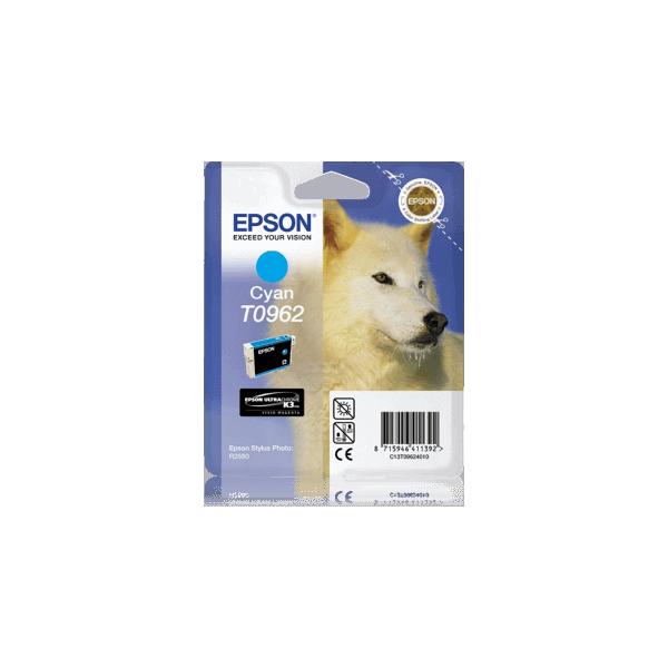 Original Ink Cartridge Epson T0962 Blue C13T09624010