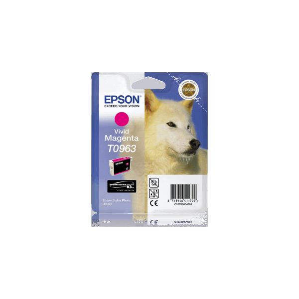 Original Ink Cartridge Epson T0963 Magenta C13T09634010