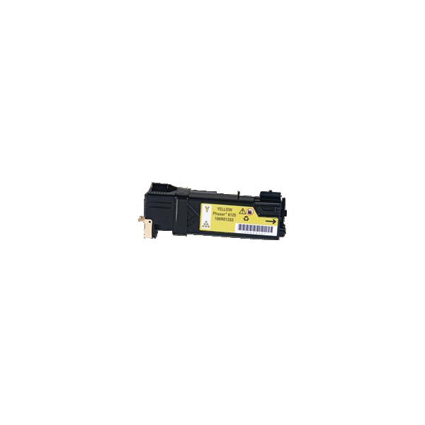 Compatible Toner Xerox Phaser 6125 Yellow 106R01333