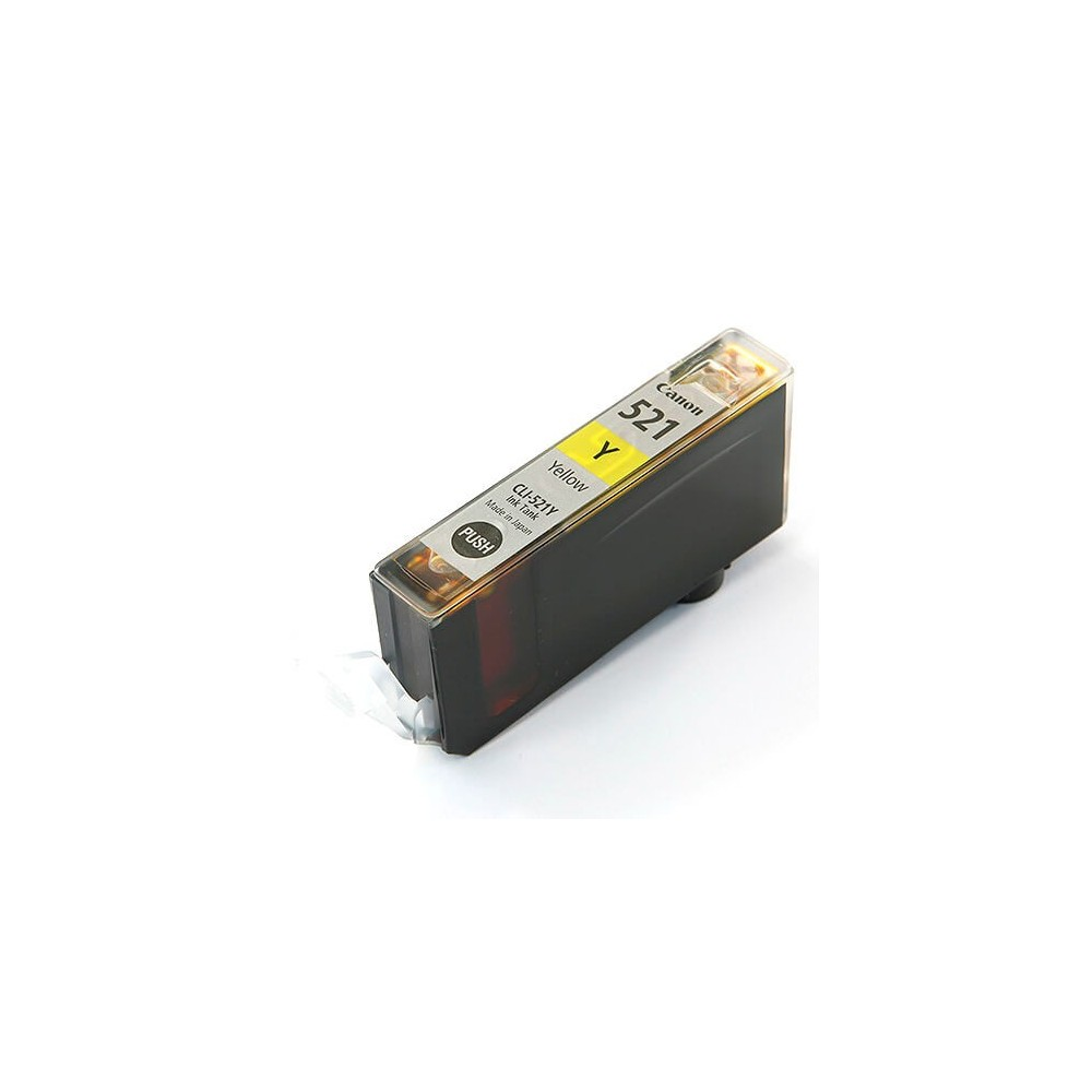 Canon CLI-521 Yellow Compatible Ink Cartridge
