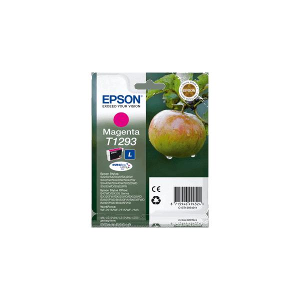 Original Epson T1293 Magenta Ink Cartridge C13T12934011