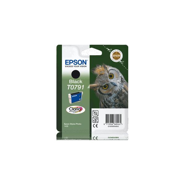 Original Epson T0791 Black Ink Cartridge C13T07914010