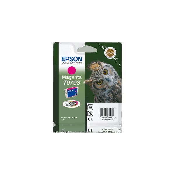 Original Ink Cartridge Epson T0793 Magenta C13T07934010