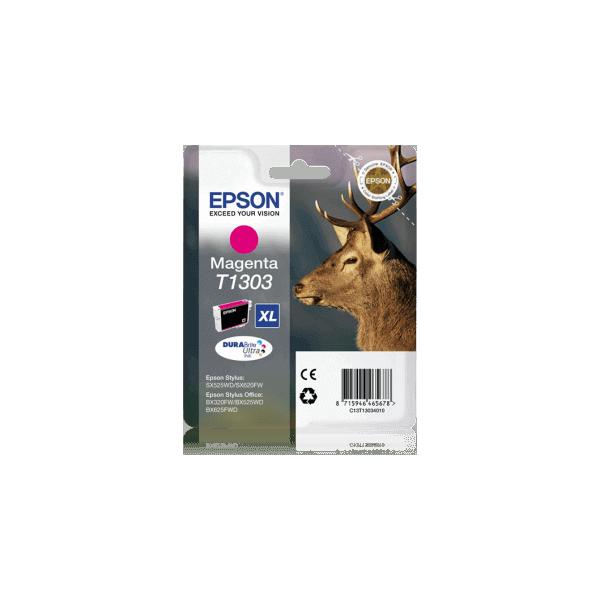 Original Ink Cartridge Epson T1303 Magenta C13T13034010
