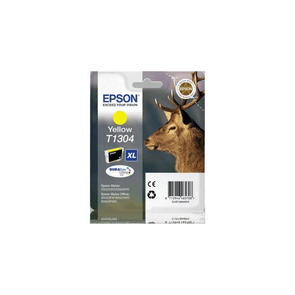 Original Ink Cartridge Epson T1304 Yellow C13T13044010