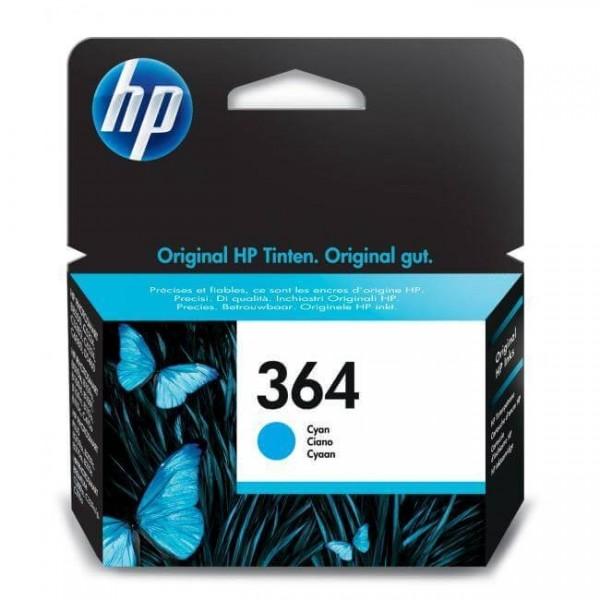 Original HP 364 Blue Ink Cartridge CB318E