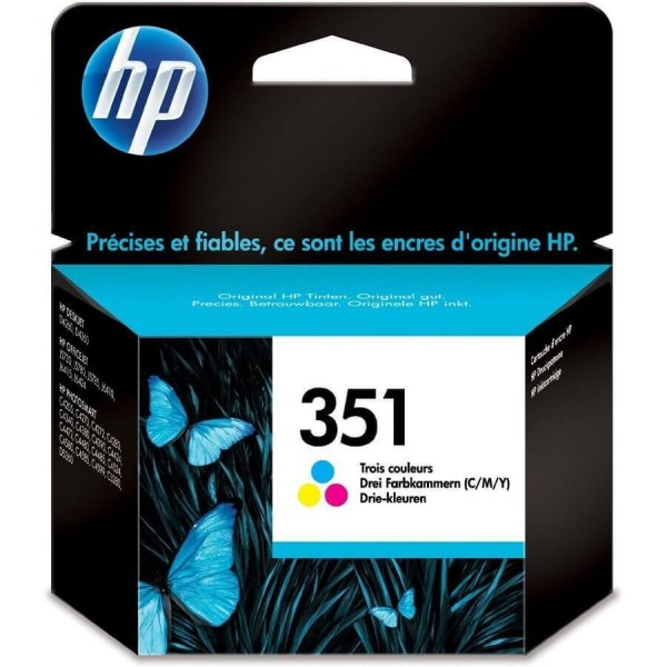 HP 351 Color CB337E Ink Cartridge Original
