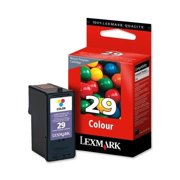 Original Lexmark N29 Color Ink Cartridge 18C1429E