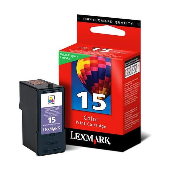 Original Lexmark N15 Color Ink Cartridge 18C2110E