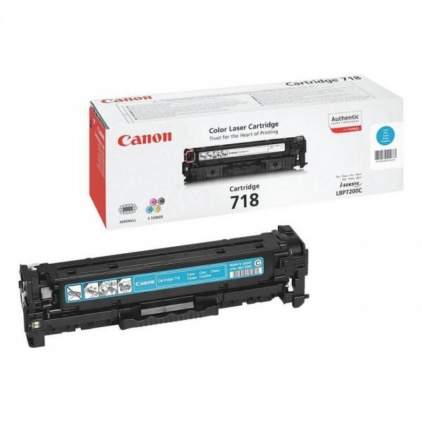 Canon Original Blue 718C Toner