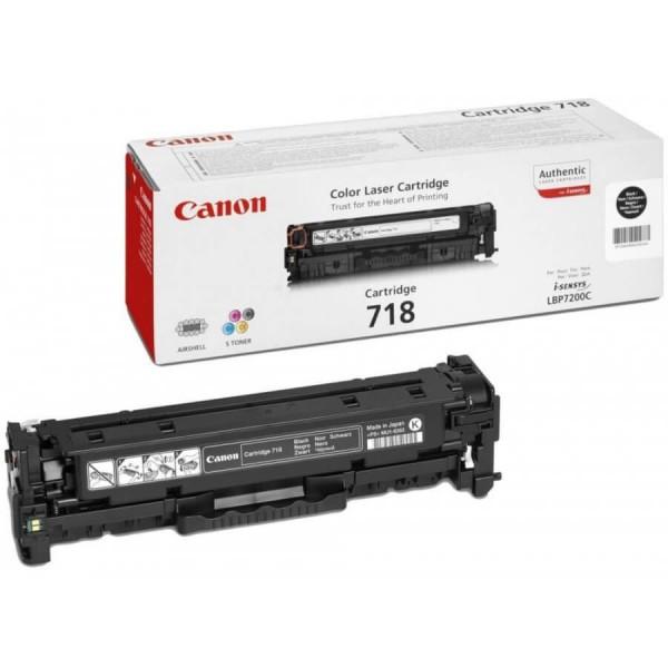 Canon Original Black 718BK Toner