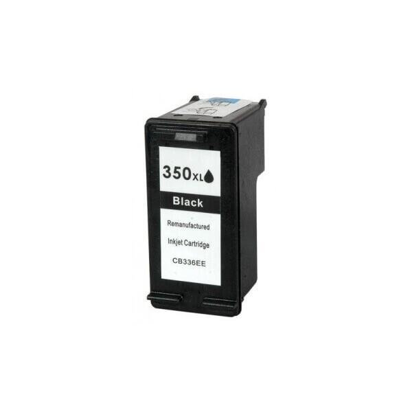 HP 350XL Black Ink Cartridge CB336E Compatible