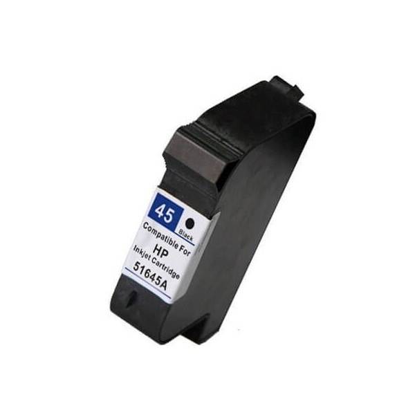 HP 45 Black Ink Cartridge 51645A Compatible