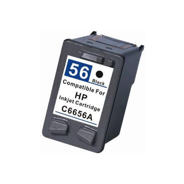 Tinteiro HP 56 Preto C6656A Compativel