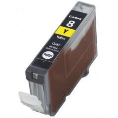 Canon CLI-8 Yellow Ink Cartridge 0623B026 Compatible