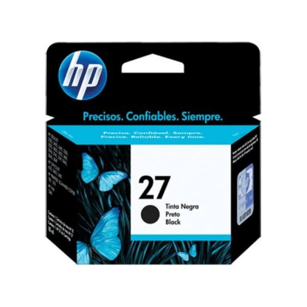 Original HP 27 Black Ink Cartridge C8727A