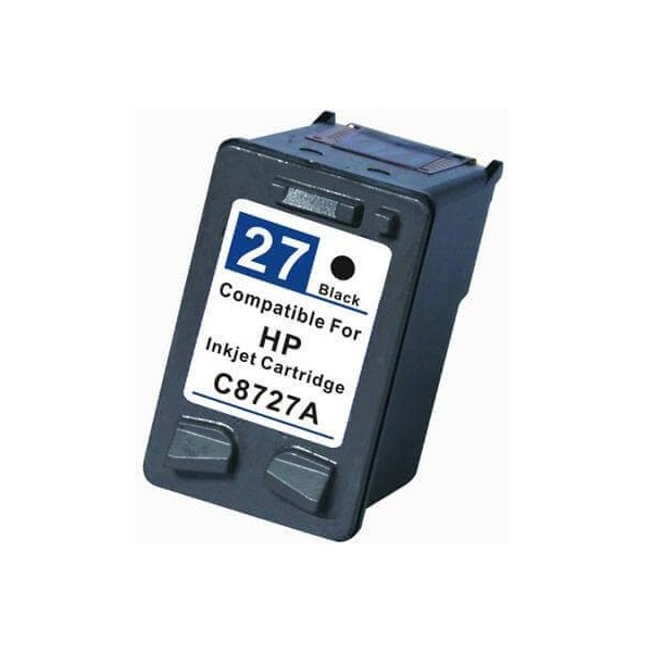 HP 27 Black C8727A Ink Cartridge Compatible
