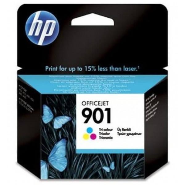 Original HP 901 Color Ink Cartridge CC656AE