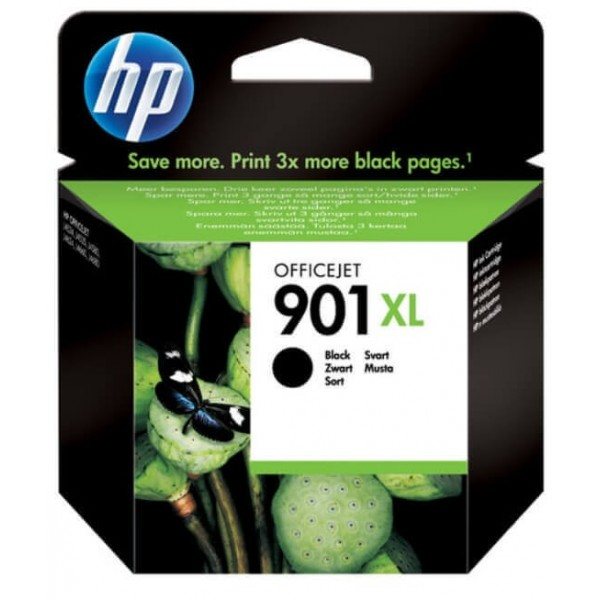 HP 901 XL Black Ink Cartridge CC654AE Original