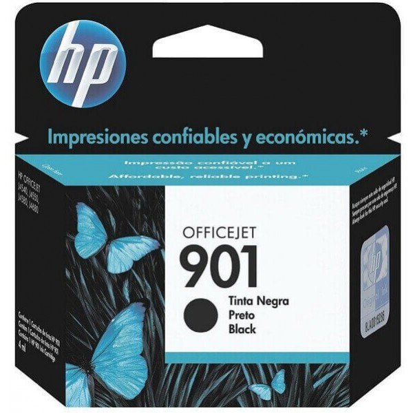 Original HP 901 Black Ink Cartridge CC653AE