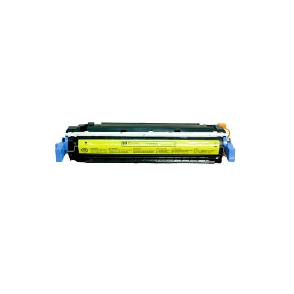 HP C9722A Yellow 641A Compatible Toner