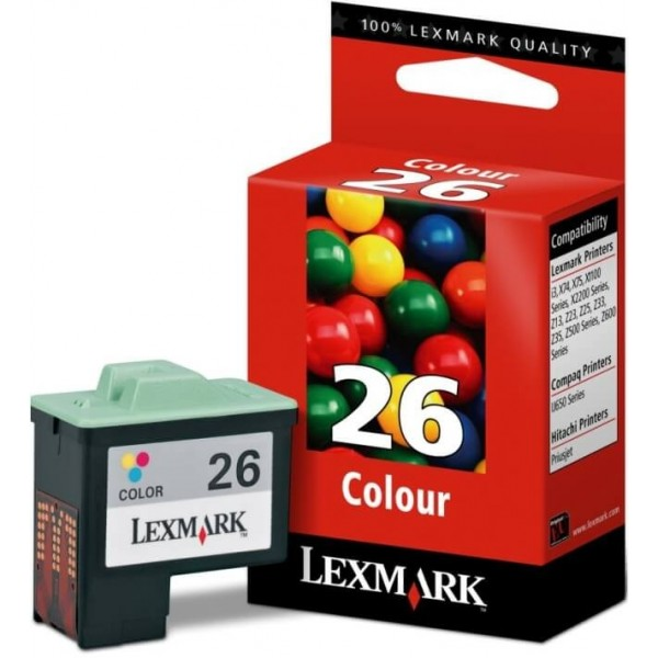 Lexmark N26 Original Ink Cartridge 10N0026 Color