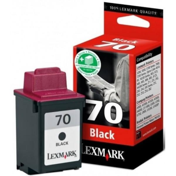 Lexmark 70 Black Ink Cartridge 12AX970E Compatible