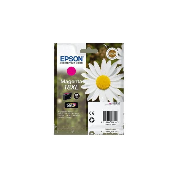 Original Epson T1813 XL Magenta Ink Cartridge C13T18134010