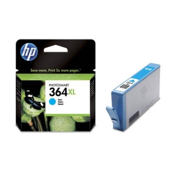 Original HP 364 XL Blue Ink Cartridge CB323E