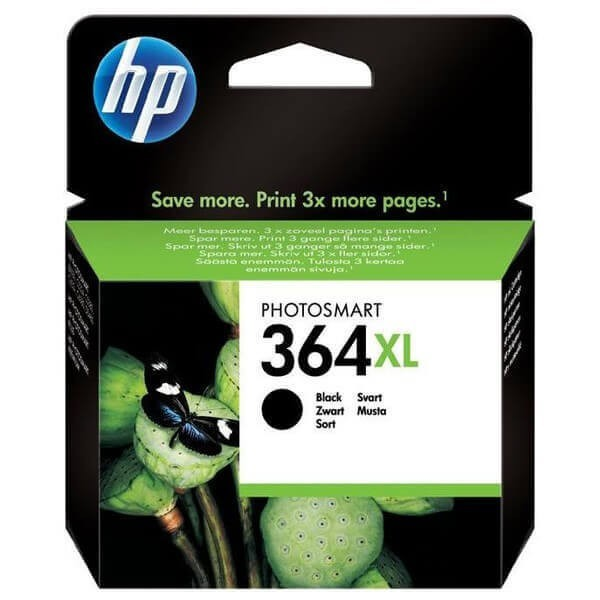 Original HP 364 XL Photo Black Ink Cartridge CB322E