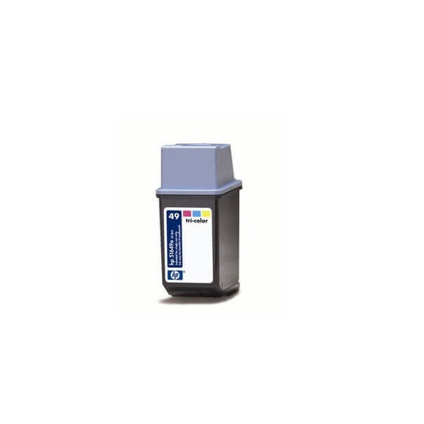 HP 49 Black Ink Cartridge 51649A Compatible